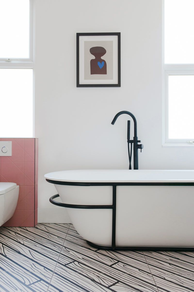 bathroom floor designs