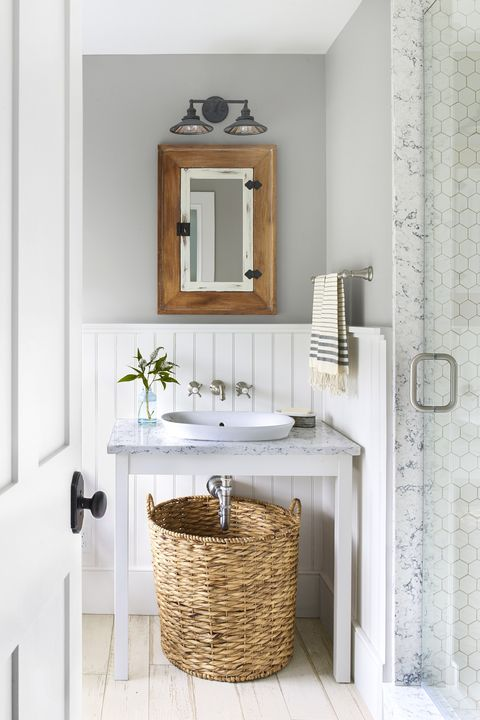 55 Bathroom Decorating Ideas Pictures, How To Decorate A Bathroom Wall