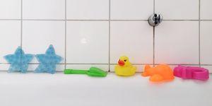 juguetes baño bebé