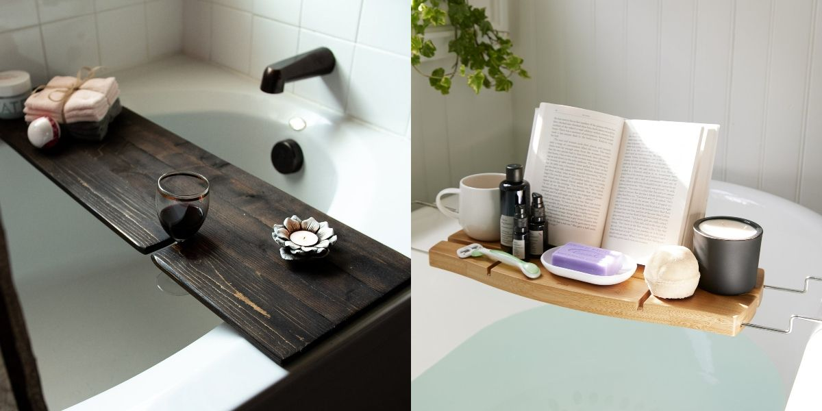 10 Best Bathtub Trays To Buy In 2020 Best Bath Caddies