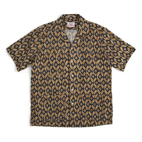 batik print shirt