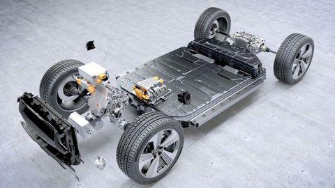 2020 Audi e-tron platform