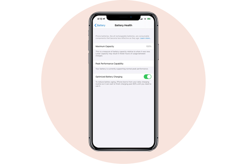 battery health apple iphone