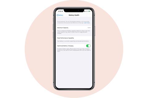 pin sức khỏe apple iphone