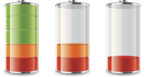 Symbole de la batterie