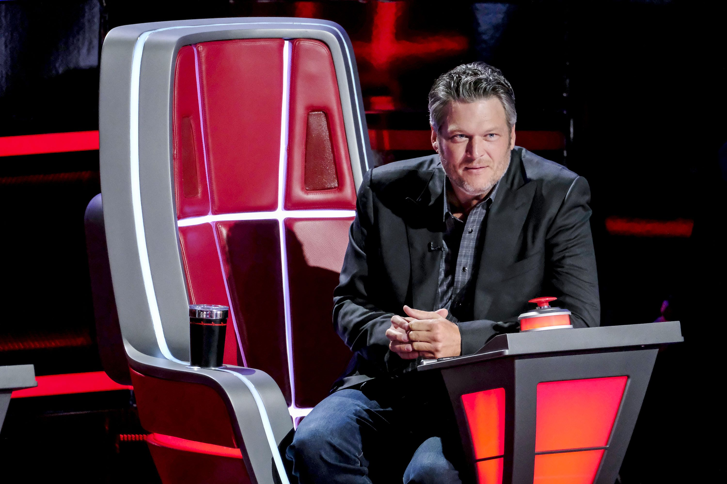 The Voice Coach Blake Shelton Reveals What's in His Cup Every Episode