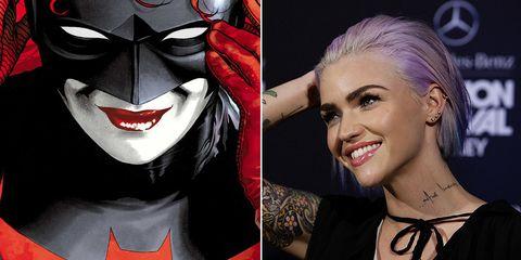 Ruby Rose y Batwoman