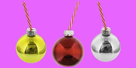 Product, Perfume, Pink, Christmas ornament, Fashion accessory, Magenta, Glass bottle, Ornament, Jewellery,