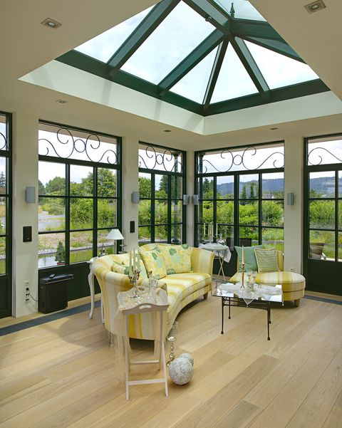 Ceiling, Building, Room, Interior design, Living room, Property, Daylighting, Home, House, Window,