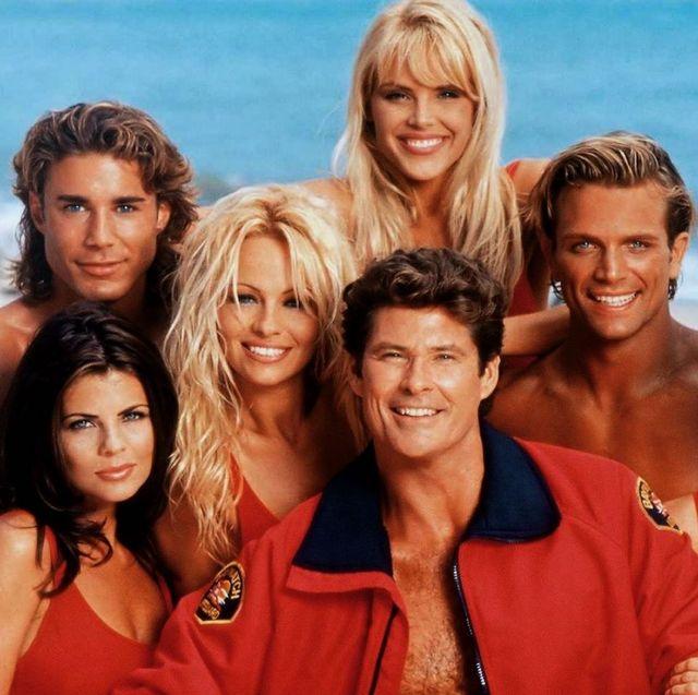 los vigilantes de la playa, protagonistas en 1989