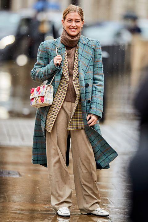 London Fashion Week, street style