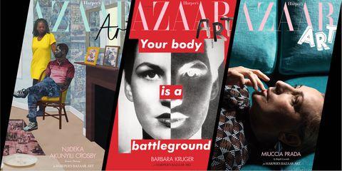 Harper's Bazaar art issue