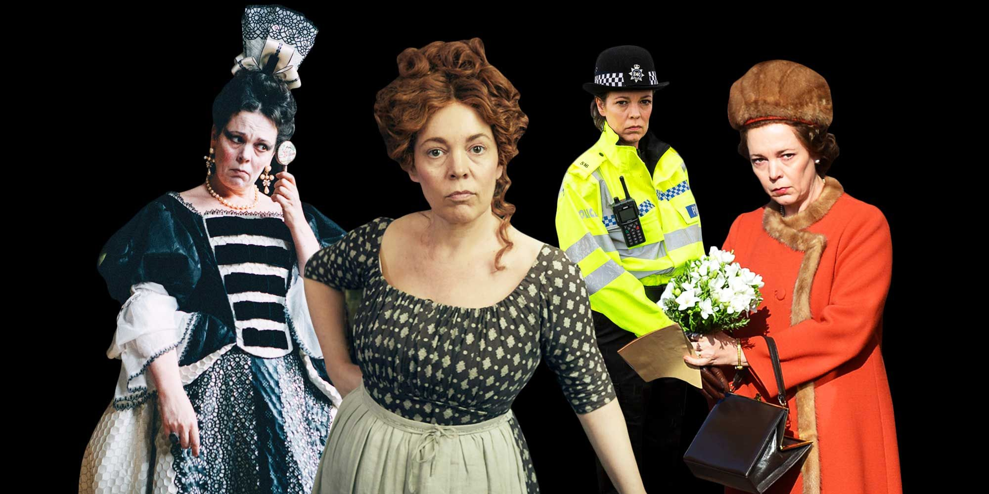 Olivia Colman TV and film roles