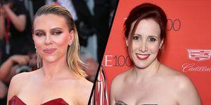 Scarlett Johansson and Dylan Farrow