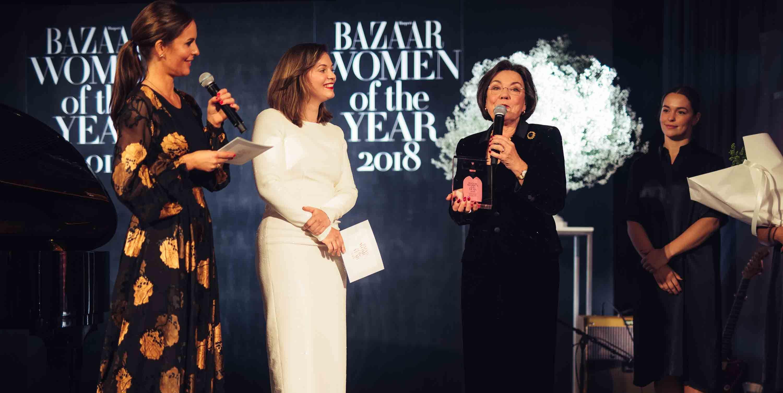 Women of the Year Awards 2018, woty 2018, Harper's Bazaar
