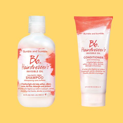 bumble and bumble hairdresser's invisible oil shampoo and conditioner