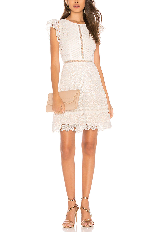 White Graduation Dresses for College