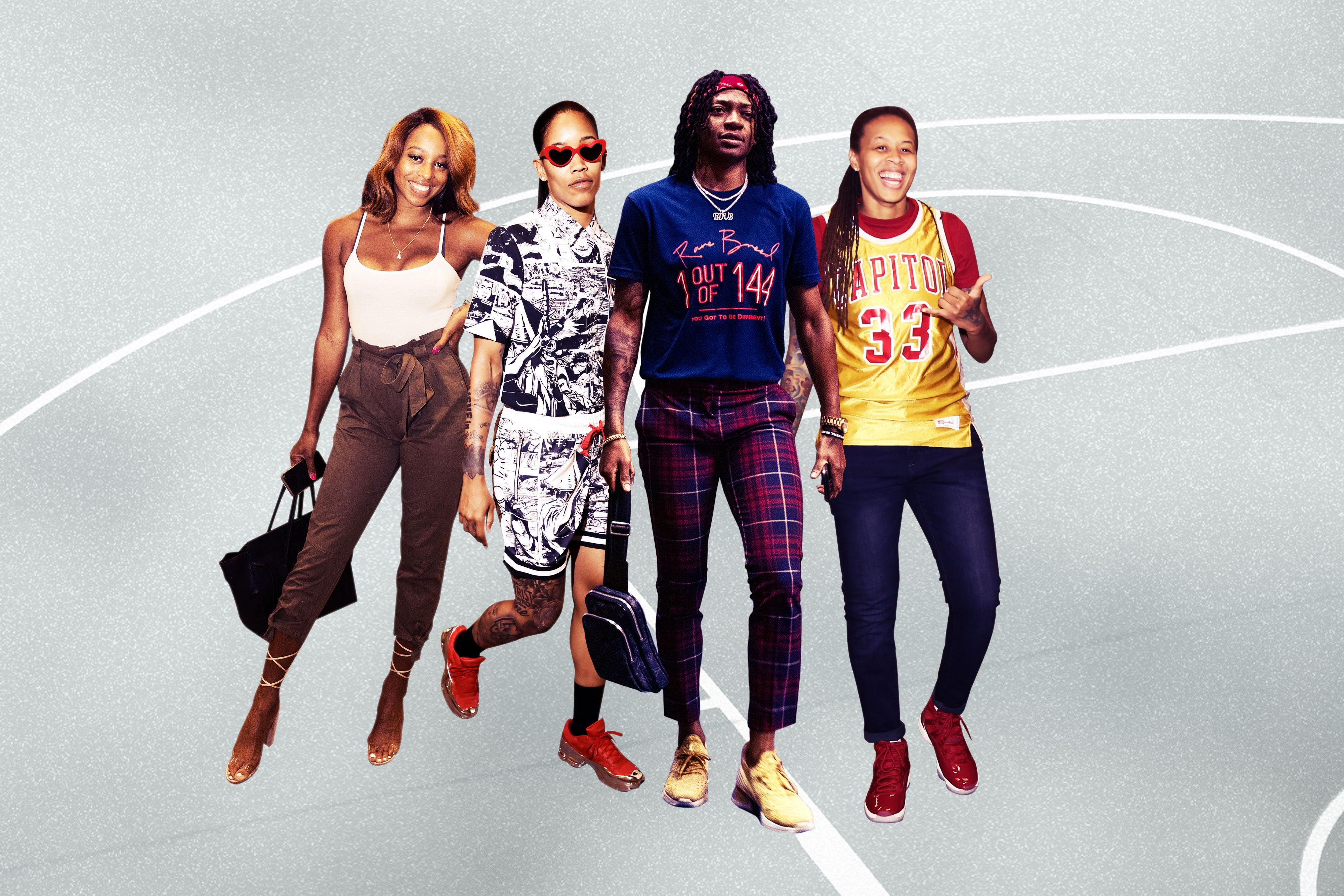 Wnba Fashion Is On The Rise