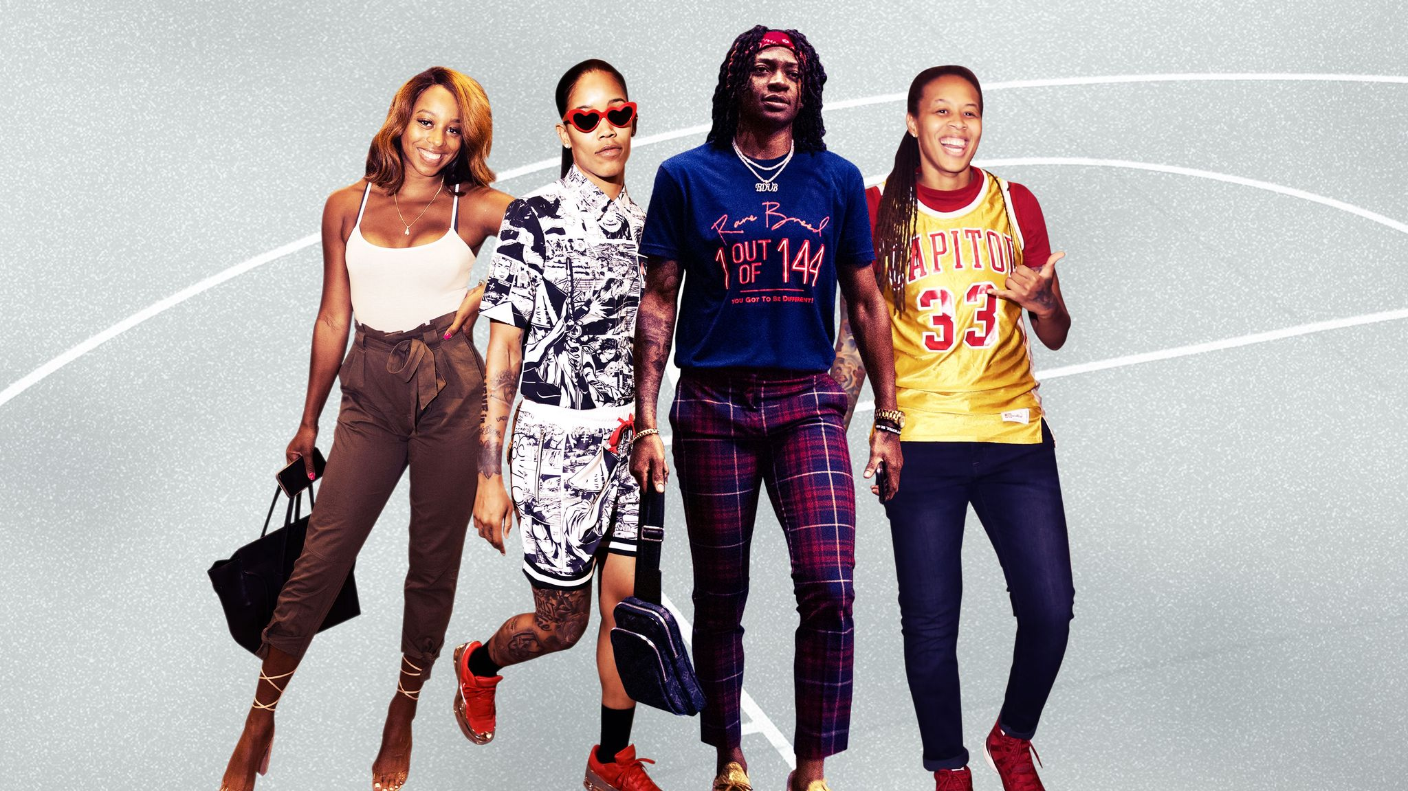 WNBA Game-Day Fashion Deserves Recognition, Too