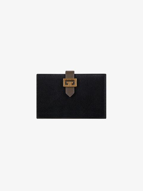 portafoglio nero donna