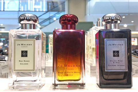 英國香氛JO MALONE,玫瑰,香水,精萃,香調,白麝香