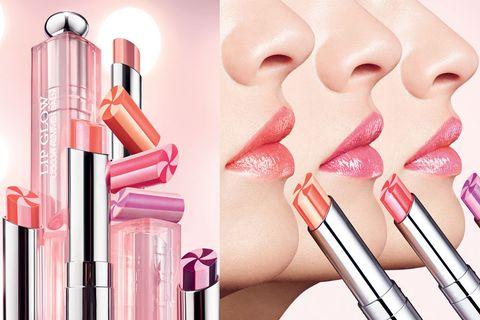 Pink, Skin, Lip, Eyebrow, Beauty, Cheek, Lip gloss, Material property, Lipstick, Cosmetics,