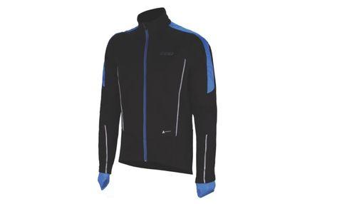Clothing, Jacket, Jersey, Sleeve, Outerwear, Sportswear, Electric blue, Zipper, Top, Suit,