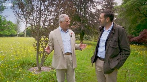 Adam Frost meets Prince Charles to talk about the issue of biosecurity - BBC's Gardeners' World