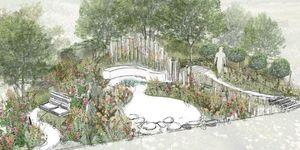 BBC Springwatch garden at RHS Hampton 2019