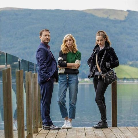 Martin Compston and Sophie Rundle The Nest