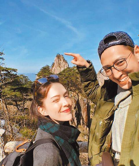 許瑋甯和男友劉又年