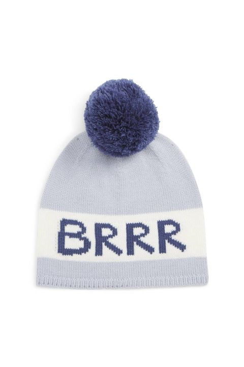 Beanie, Clothing, Knit cap, Cap, Blue, Violet, Bonnet, Headgear, Wool, Pom-pom,