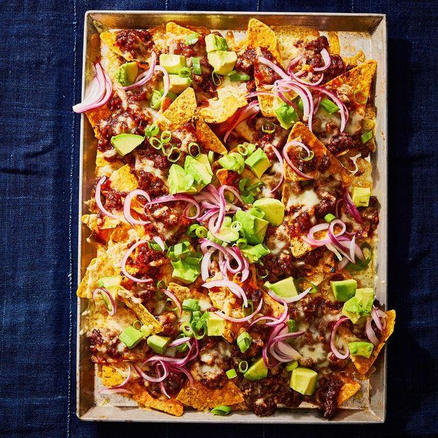 bbq beef nachos