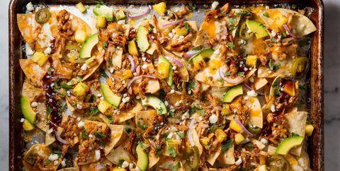 BBQ Chicken Nachos horizontal
