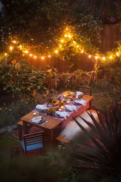 outdoor dinner party decor ideas