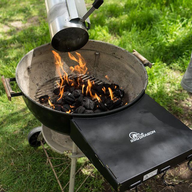 bbq dragon side shelf grill table