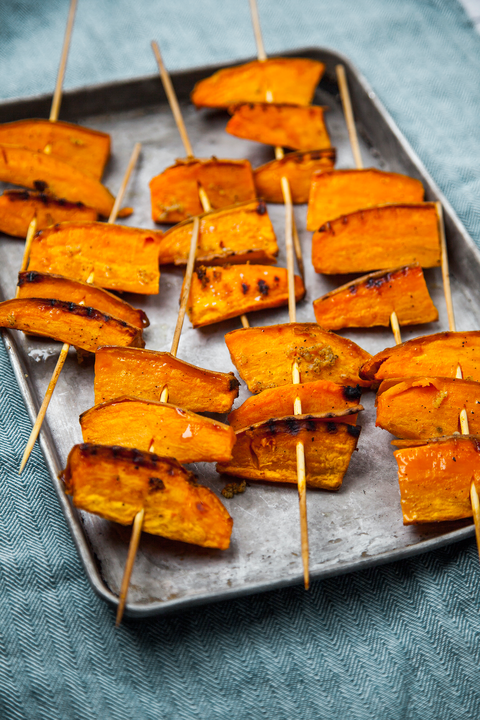 BBQ sweet potato