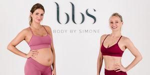 Millie Mackintosh pregnancy workout with Body by Simone