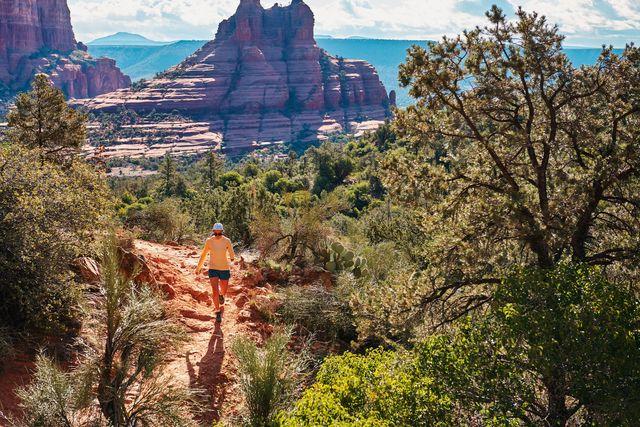 backcountry hiker
