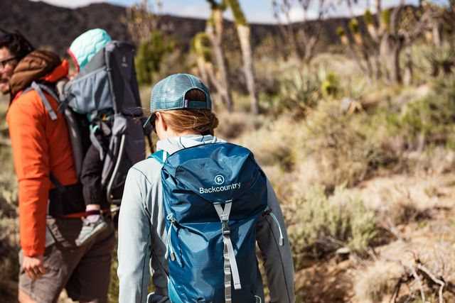 backcountry hikers