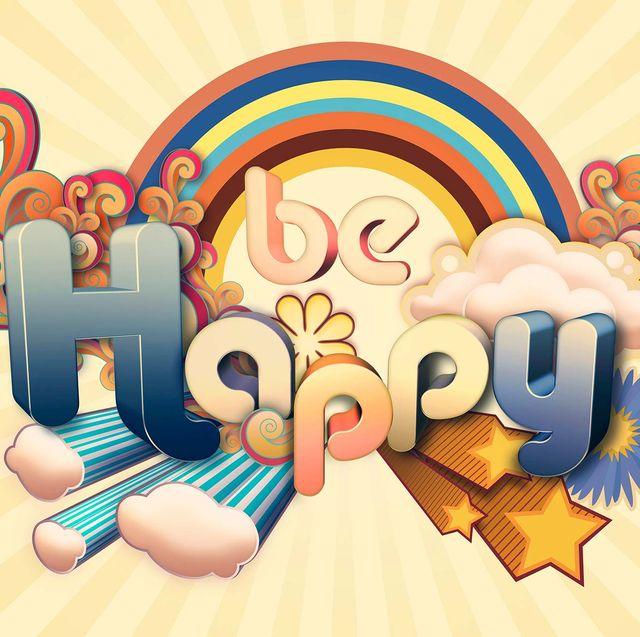 ilustración be happy