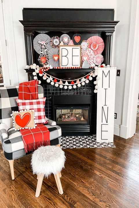 be mine sign valentines day decor