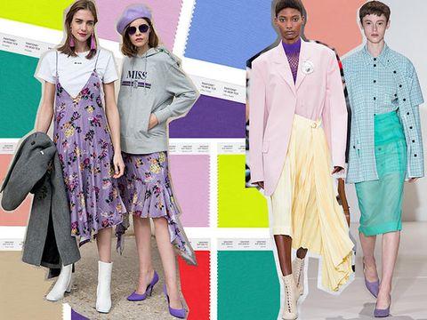 1998d09bedd9 Come abbinare i colori moda primavera estate 2018