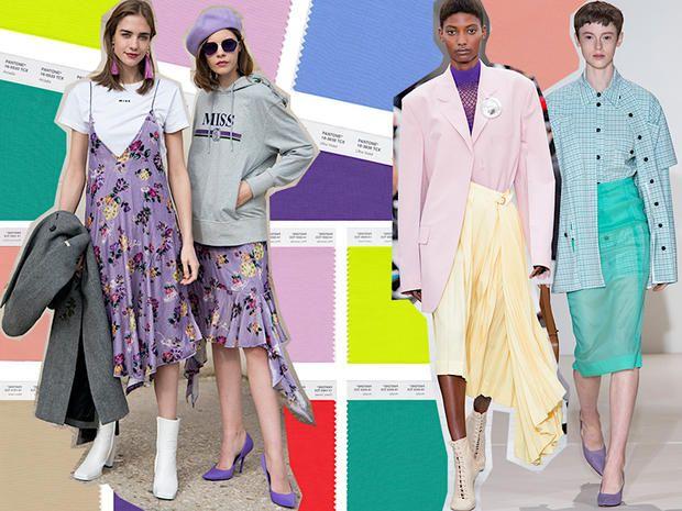 Come abbinare i colori moda primavera estate 2018 for Colori di moda per arredamento