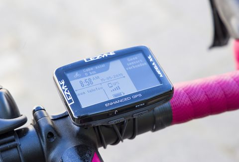 Review van een mega GPS: de Lezyne Mega XL