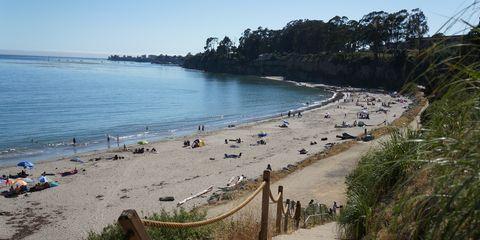 Beach Camping California New Brighton State