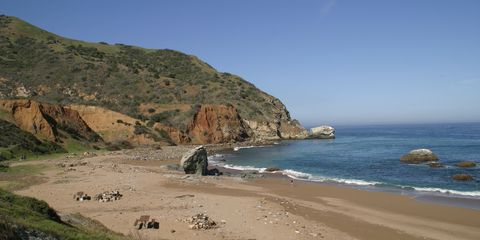 Beach Camping California Parson S Landing
