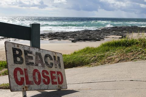 Beach Closed Following Fatal Shark Attack