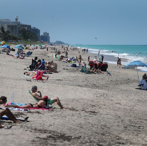 most of Florida's counties open retail stores, restaurants and beaches