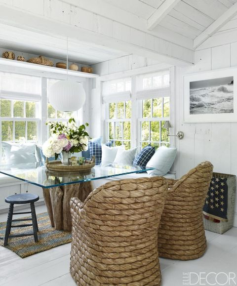 20 Gorgeous Beach House Decor Ideas - Easy Coastal Design Ideas on luxe home interiors, victoria beckham house interiors, andrew carnegie house interiors, bill gates house interiors, private island house interiors, celine dion house interiors,